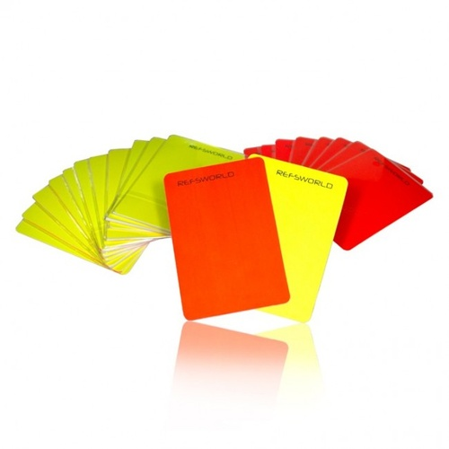 Red and Yellow Card Set